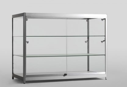 All Glass Aluminium Display Counter 1200X600X900mm GT2