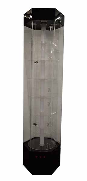 Display Cabinet Hexagonal LED (Collection Only)