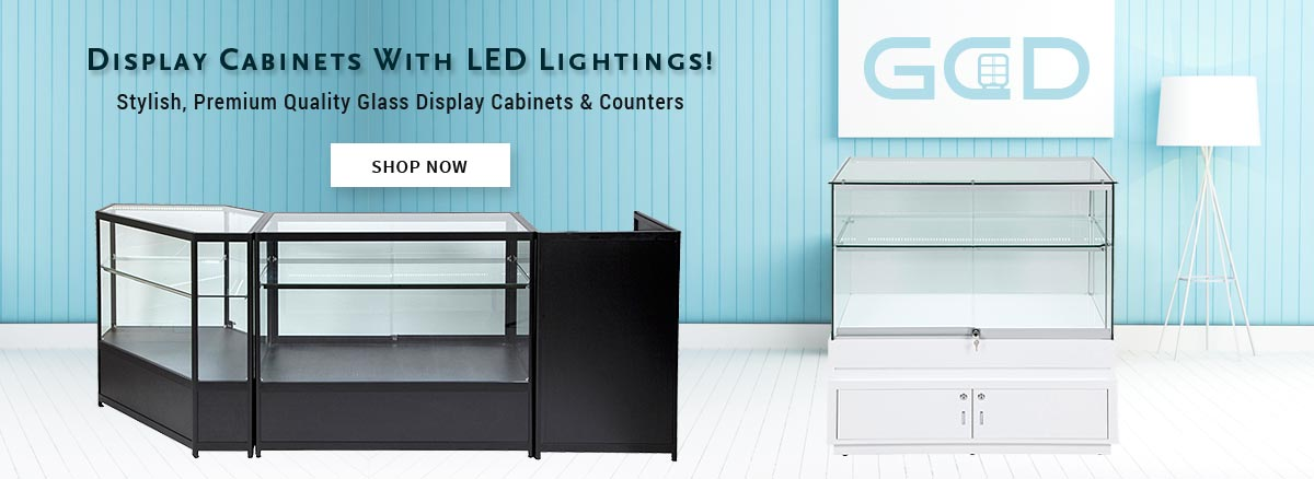 Display Cabinets with Led Lightings
