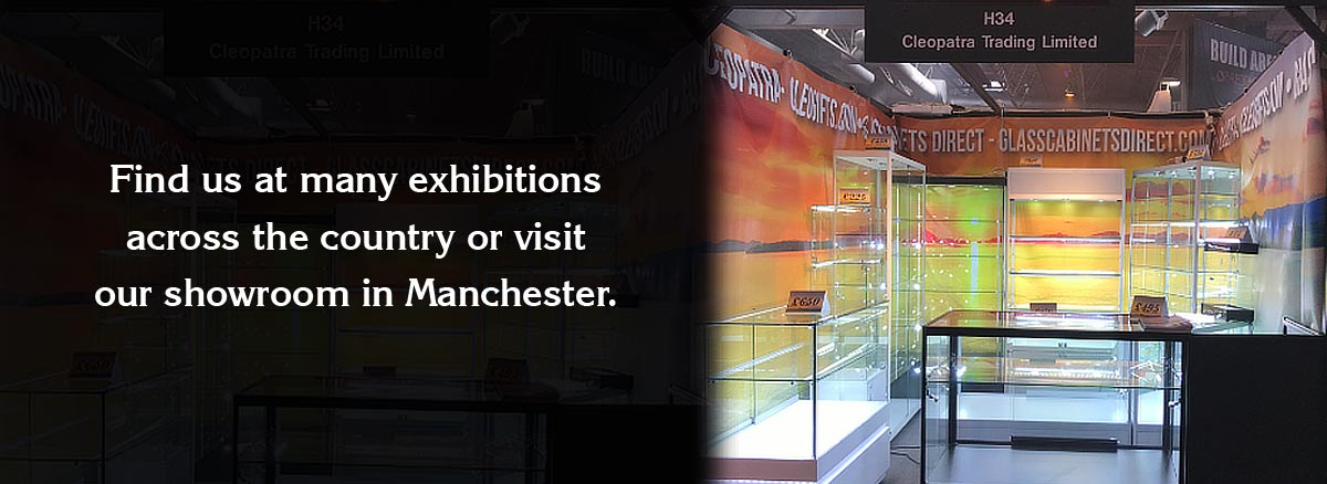 Glass Cabinets Direct Exhibitions